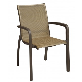 Grosfillex Sunset collection arm chair