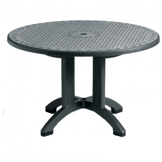 "Toledo Grosfillex 38"" Round Folding Table"