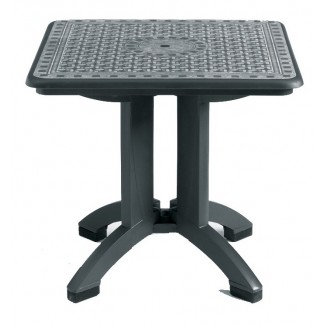 "Toledo Grosfillex 32"" Square Folding Table"