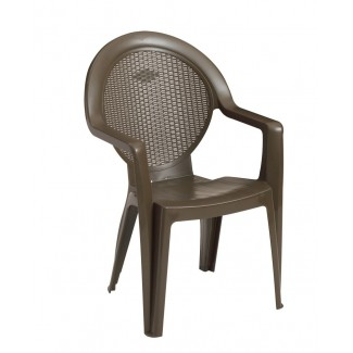 Restaurant Hospitality Outdoor Chairs Trinidad Stacking Arm Chair