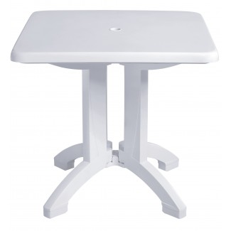 "Vega Grosfillex 32"" Square Folding Table"