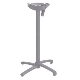 Grosfillex Bar Height Table Base X1 Series