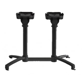 Grosfillex Lateral Tilt-Top Table Base
