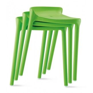 Happy Stackable Backless Bar Stool