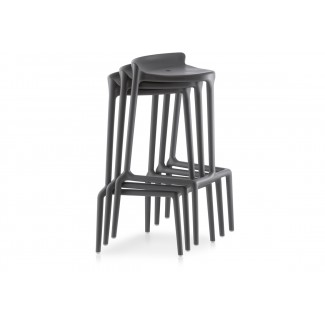 Pedrali Happy Stackable Bar Stool