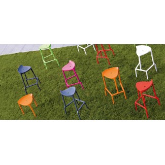 Pedrali Happy Stackable Bar Stool Installation Photo