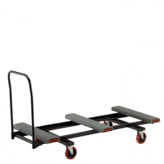 "Heavy Duty Flat Table Cart 31"" x 74"" x 41"" Flat Stack"