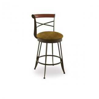 Historian 41402-USWB Hospitality distressed metal bar stool