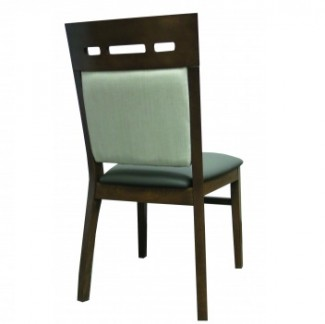 Holsag Sussex Stacking Hospitality Side Chair - Back View