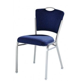 Impilato Steel Stacking Side Chair with Handgrip 12-SIX-UT