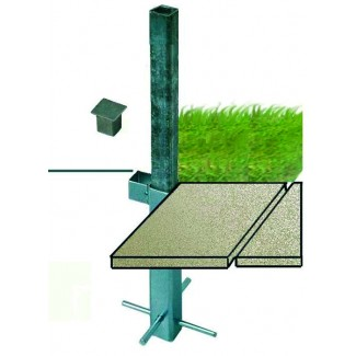 In-Ground Fitting for Outdoor Umbrella