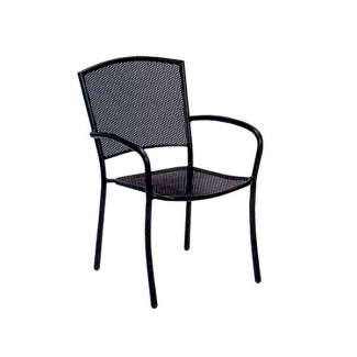 Albion Wrought Iron Arm Chair