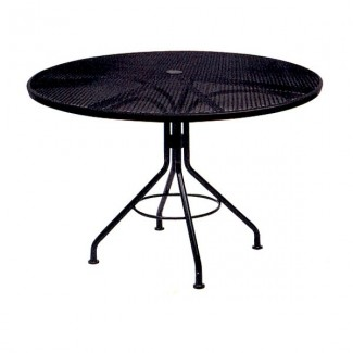 "In Stock Contract Mesh 48"" Round Table"