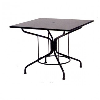 "In Stock Solid 36"" Square Table - Contract Base"