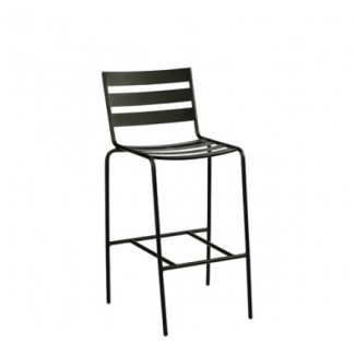 Metro Wrought Iron Bar Stool