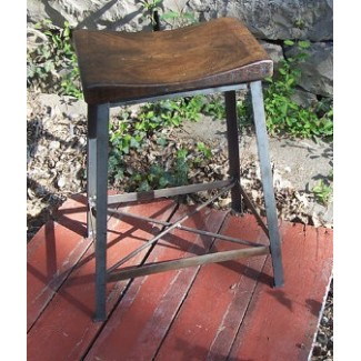 Industrial Saddle Stool