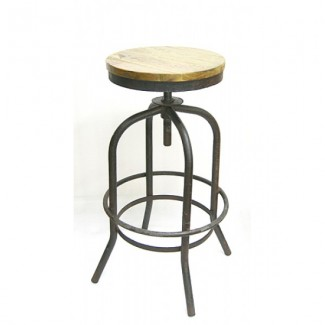 Bowery Backless Bar Stool
