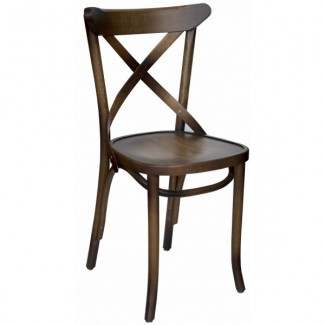 Industrial Style Restaurant Chairs Cortona Beechwood Industrial Side Chair