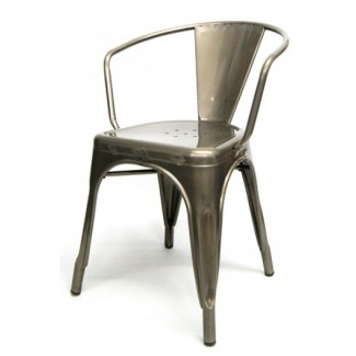 Industrial Style Restaurant Chairs Roosevelt Arm Chair