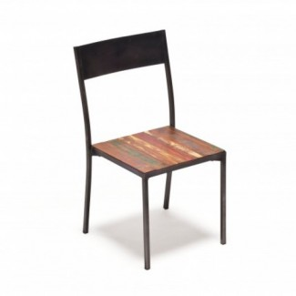 Industrial Style Restaurant Chairs Urban Farm Dining Chair