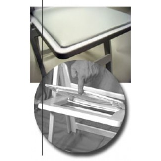 Interchangeable Vinyl Seat Pad - White