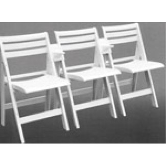 Ispra Arm Link for Folding and Stacking Chairs - White