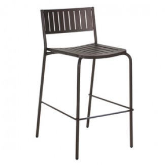 Italian Wrought Iron Restaurant Chairs Bridge Bar Stool