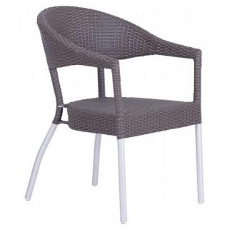 Italian Wrought Iron Restaurant Chairs Donna Arm Chair