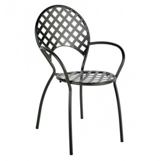 Saffo Stackable Arm Chair