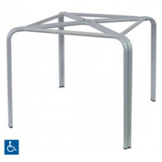 "Zeus 36"" Square Top ADA Compliant Table Base"