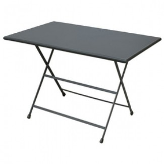 "44"" x 28"" Arc en Ciel Folding Table"