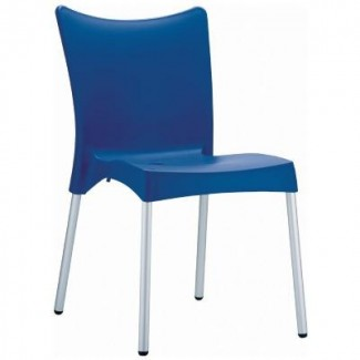 Juliette Stacking Restaurant Side Chair in Red