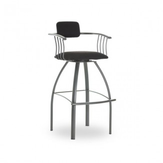 Kris 40494-USUB Hospitality distressed metal bar stool