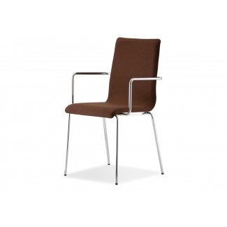 Pedrali Kuadra Upholstered Arm Chair