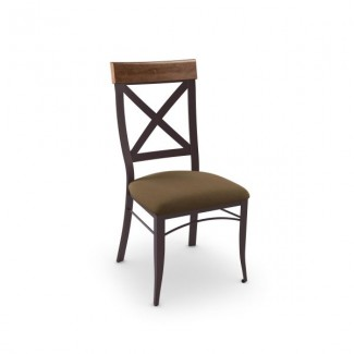 Kyle 35214-USDB Hospitality distressed metal dining chair