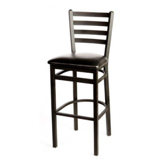 Ladder Back Metal Bar Stool SL2301