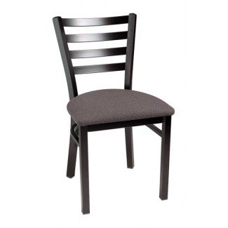 Ladder Back Side Chair with Upholstered Seat 944