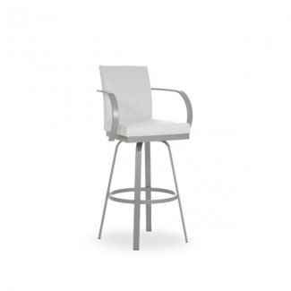 Lance 41436-USUB Hospitality distressed metal bar stool