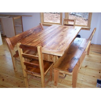 Landon Reclaimed Wood Chairs and Table