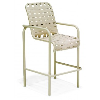 Lido Crossweave Strap Bar Stool M4005CW
