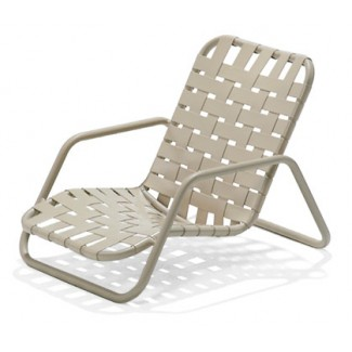 Oasis Crossweave Strap Nesting Sand Chair