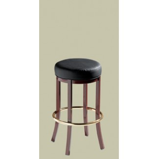 Lounge Backless Bar Stool without Brass Nail Trim 910-30