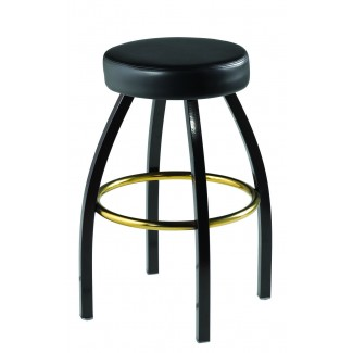 Lounge Backless Swivel Bar Stool 901-30-RD