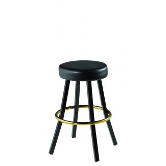 Lounge Backless Swivel Bar Stool 902-30-RD
