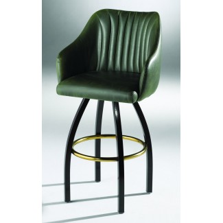 Lounge Bar Stool with Channel Back 901-30-N-CHI