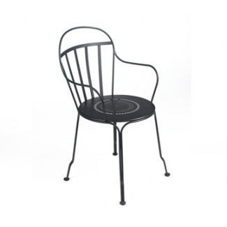 Louvre Stacking Bistro Arm Chair