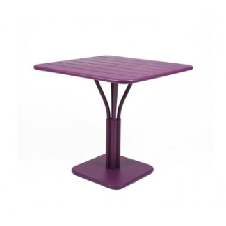 "Luxembourg 32"" Square Bistro Table with Parasol Hole"