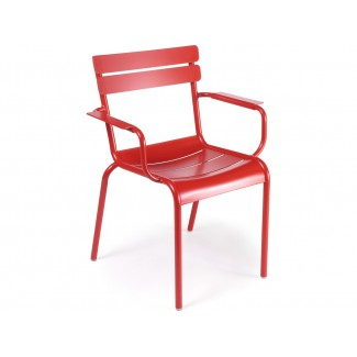 Luxembourg Stacking Bistro Arm Chair