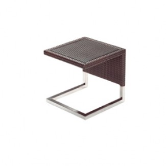 Luxor Side Table With Glass Top