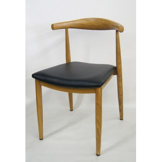 Mid-Century Modern Restaurant Chair - Elbow Side Chair